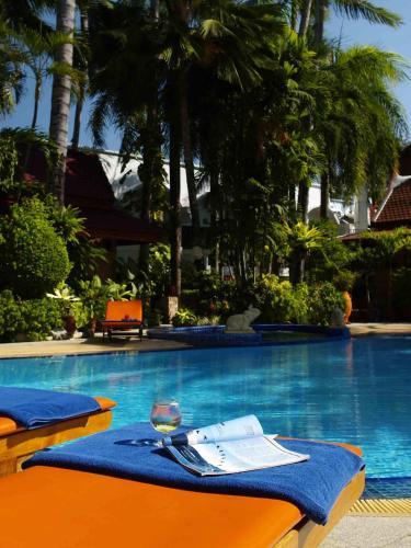 The swimming pool at or near Safari Beach Hotel