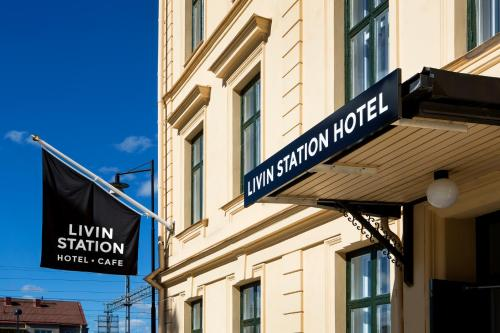 Foto hotell Livin Station Hotel