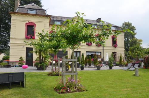 Terrasse ou espace extérieur de l'établissement Le Domaine des Fagnes