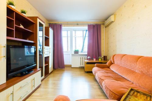 A seating area at Star 2 apartment on Kievskaya