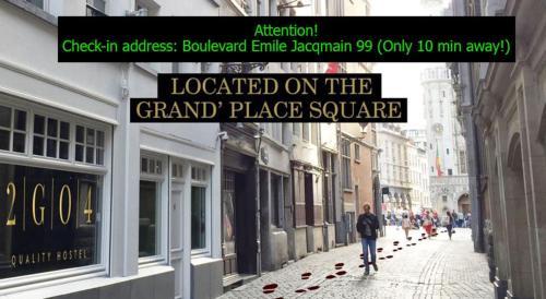 Go quality hostel brussels grand place bruxelles u prezzi