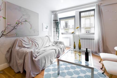 Zona de estar de Chardonnay Apartment