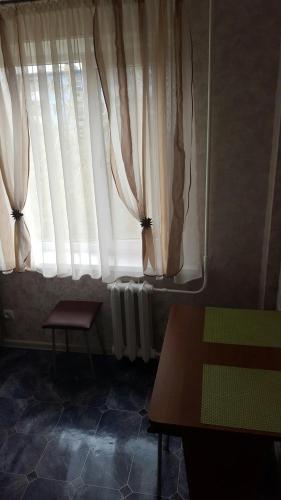 Гостиная зона в Apartamenty na ulitse Savushkina