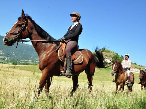Horseback riding at the villa or nearby