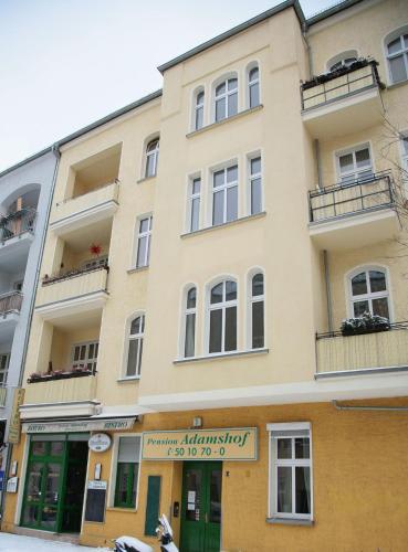 Hotel Pension Adamshof Berlin