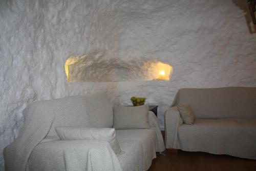 Zona de estar de Cueva Los Naranjos