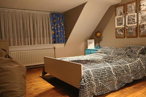 Un ou plusieurs lits dans un hébergement de l'établissement La Crème