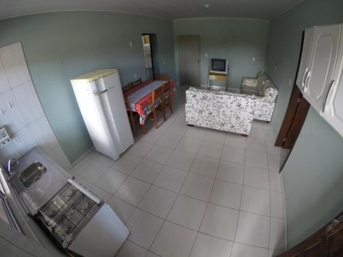 A seating area at Casa - Estaleirinho - Balneário Camboriú