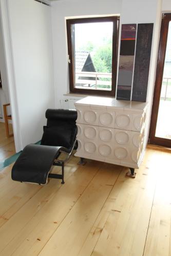 TV in/ali zabaviščno središče v nastanitvi Nature apartment Kersnik
