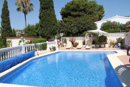Sunny Villa in Moraira