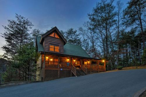 Enchanted Forest Two Bedroom Cabin Pigeon Forge Tn
