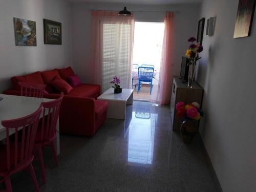 A seating area at Velez Nazari Cambriles