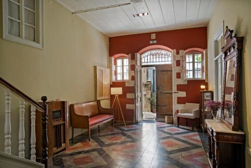 The lobby or reception area at Anatolia Charming Hotel