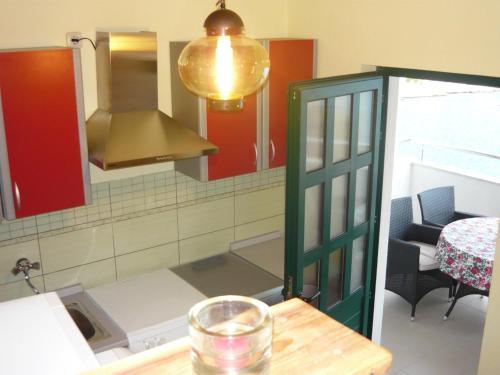A kitchen or kitchenette at Villa Vanja - Kanica Sevid