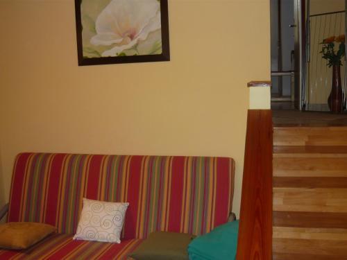 A seating area at Villa Vanja - Kanica Sevid