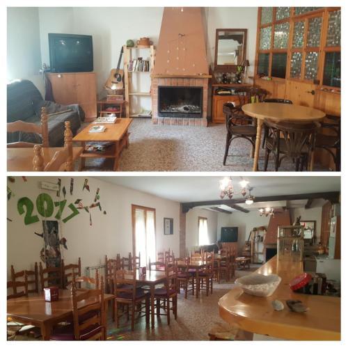 Un restaurante o sitio para comer en El Mijares