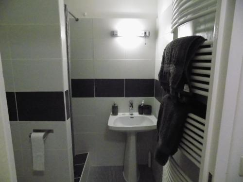 A bathroom at L'Ancienne Forge