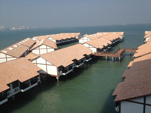 A bird's-eye view of Wonderland Private Chalet at Port Dickson
