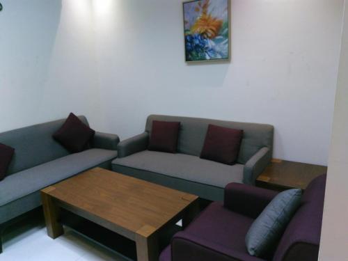 A seating area at Awali Rose- Awali District Makkah