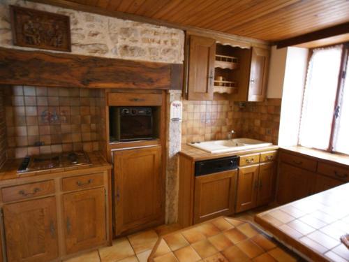 Cuisine ou kitchenette dans l'établissement Padirac