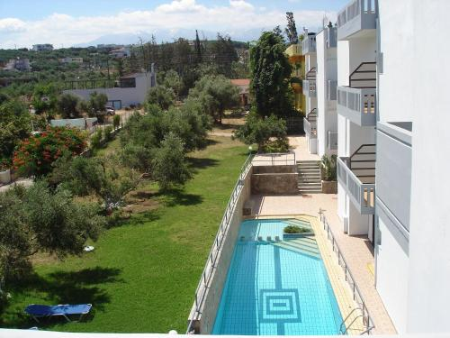 A view of the pool at Popi Hotel Apartments or nearby