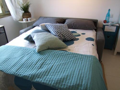 Cama o camas de una habitación en Fly Windows Apartment