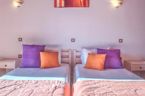 Krevet ili kreveti u jedinici u okviru objekta HYGGE Corfu