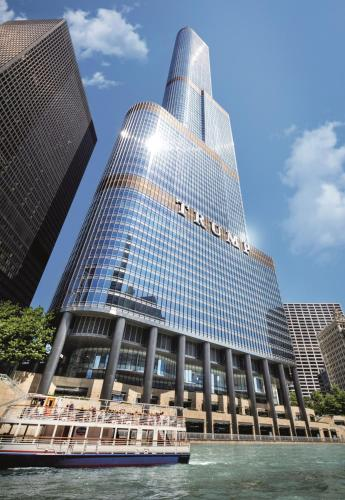 Trump International Hotel & Tower Chicago.