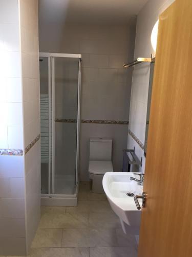 A bathroom at Apartmento Carbonero