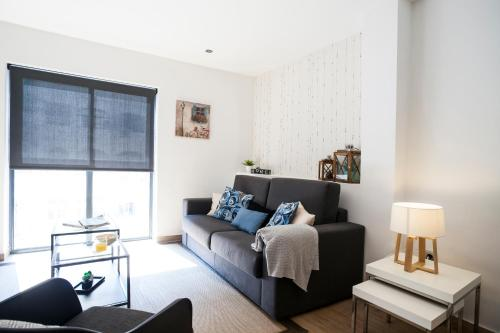 A seating area at Feelathome Mozart Apartments