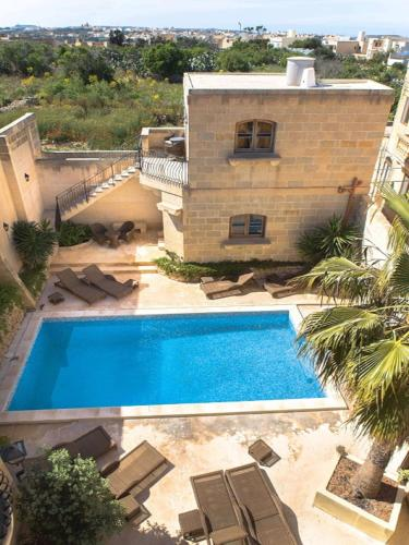 A view of the pool at Gozo Spirit or nearby
