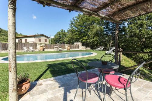spoleto swimingpool villa le querce