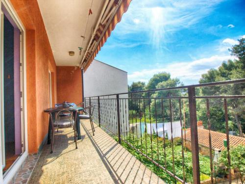 A balcony or terrace at Apartments Branko 1348