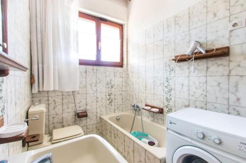 A bathroom at Casa Nina