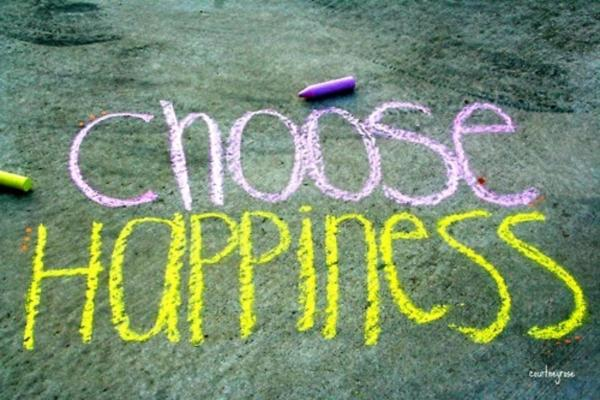 Choose To Be Happy @ 16