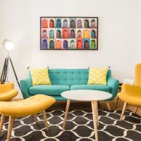 Sol Vintage & Colorful Apartment