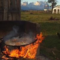 Vista al Paine - Refugio de Aventura