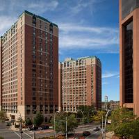 Global Luxury Suites near the Metro-North Station