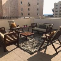 Luxury Appt With Big Terrace Jerusalem Center