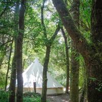 Stanbridge Farm Woodland Bell Tents
