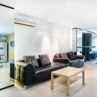 Modern one-bedroom apartment