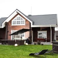 Scandi village home