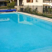 Maison de charme, Jardin piscine