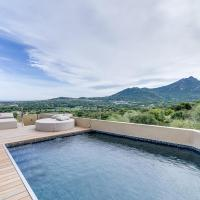 Designer villa sea and mountain