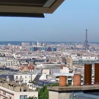 Paris Panoramic View Apartment