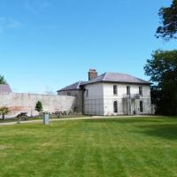 Cardigan Castle - East Wing