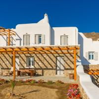 Villas  4Z Mykonos Ftelia Villas Opens in new window