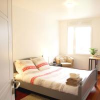 Relaxing and modern apartment near Paris