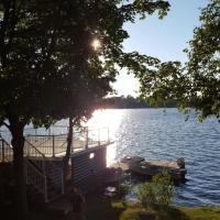 Beautiful Balsam Lake Villa