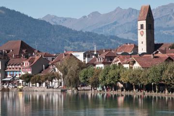 Interlaken: Location de voitures dans 1 lieu de prise en charge